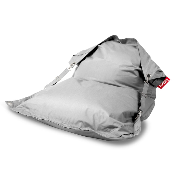 The Fatboy - Buggle-Up Outdoor Beanbag, silver