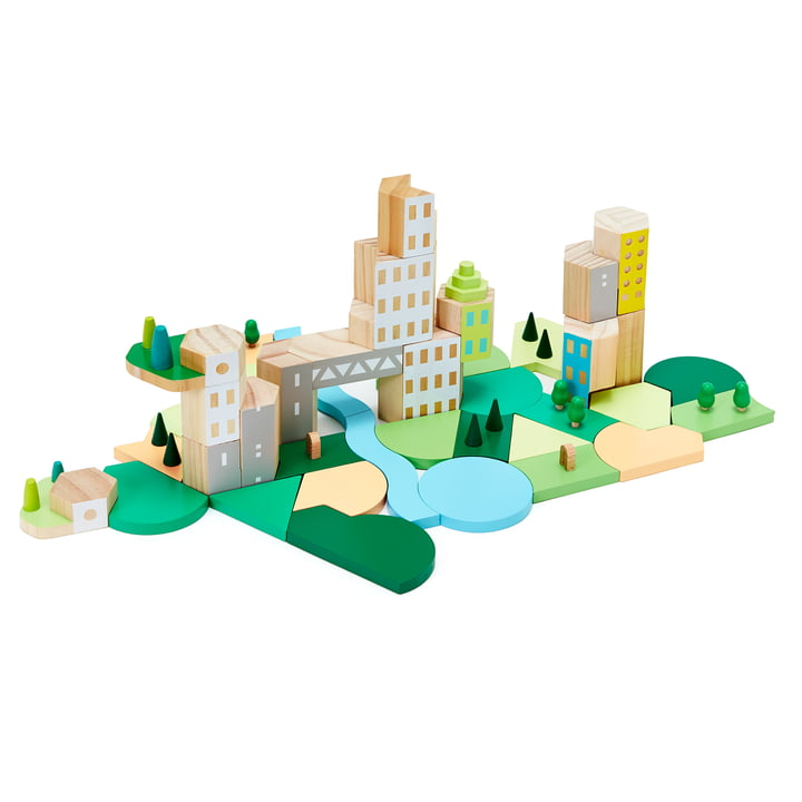 Blockitecture Wooden Architecture Toy by Aeraware
