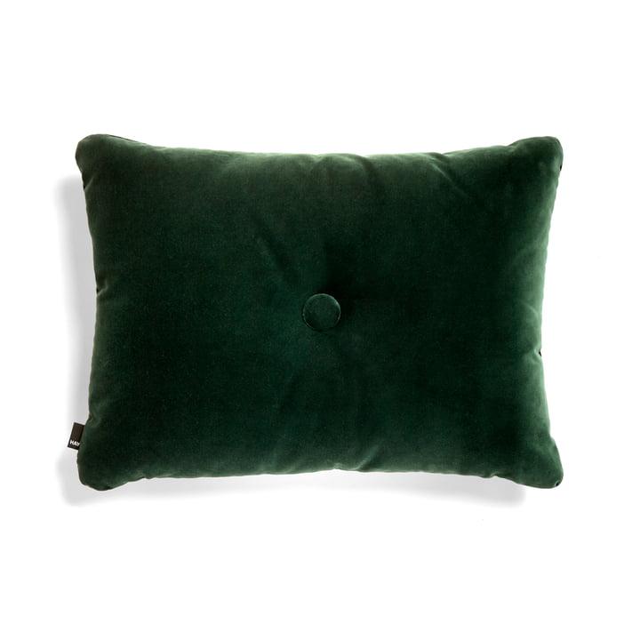 The Hay - Dot Soft Cushion, 45 x 60 cm, Dark Green