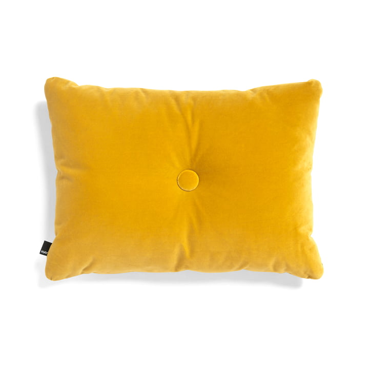 The Hay - Dot Soft Cushion, 45 x 60 cm, Yellow