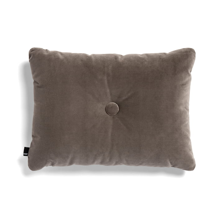 Hay - Dot Soft Cushion, 45 x 60 cm, Warm Grey