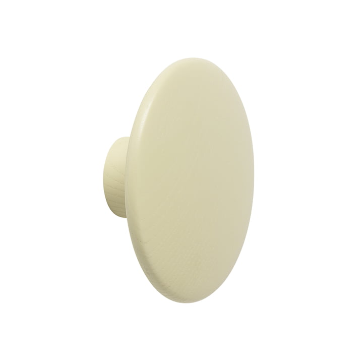 "Muuto - Wall Hook ""The Dots"" single medium, beige-grün"