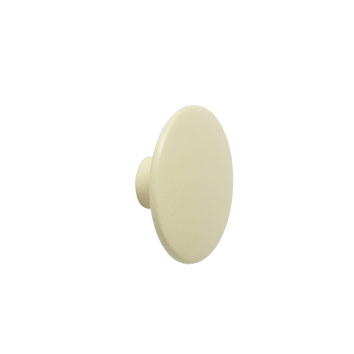 "Muuto - Wall Hook ""The Dots"" single small, beige green"
