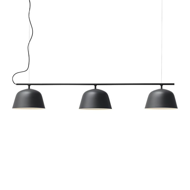 Ambit Rail pendant lamp from Muuto in black