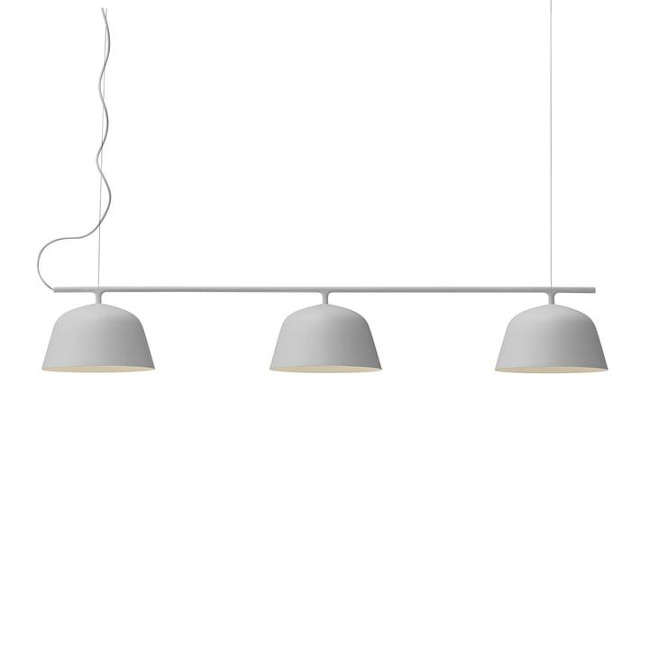 Muuto - Ambit Rail pendant light, grey