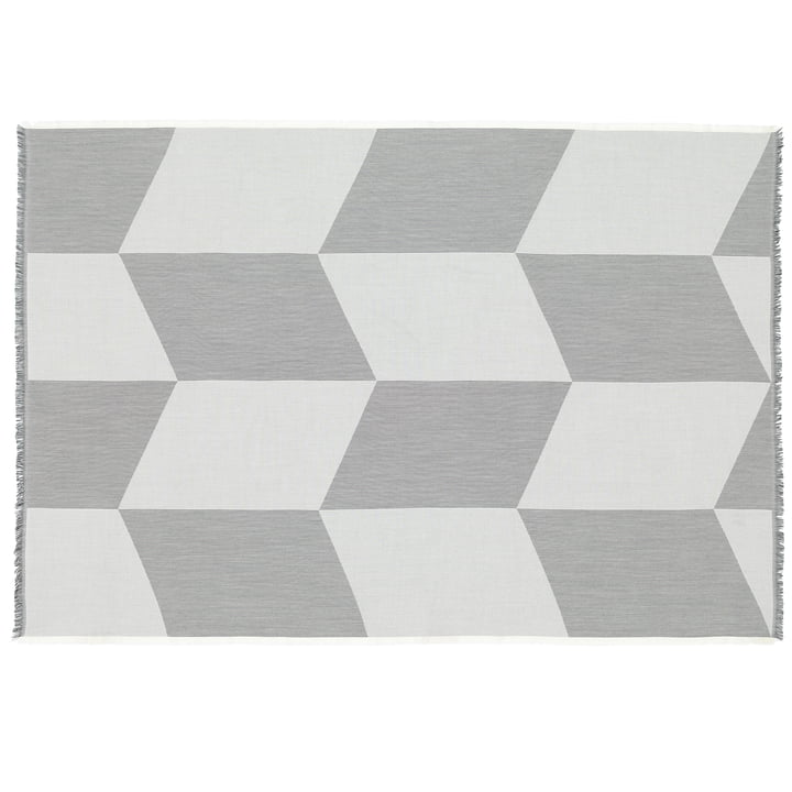 Sway woollen blanket by Muuto in black / white