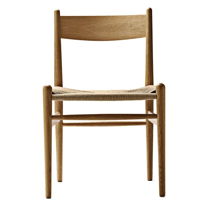 Carl Hansen - CH36 Chair, oiled oak / natural woven paper cord