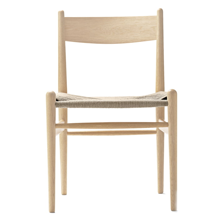 Carl Hansen - CH36 Chair, soaped oak / natural woven paper cord