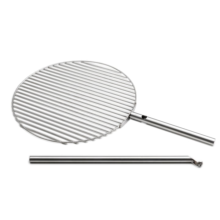 The höfats - Triple Grill Grate Ø 55 cm, Stainless Steel