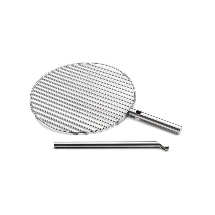 The höfats - Triple Grill Grate Ø 45 cm, Stainless Steel