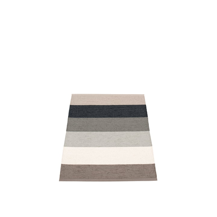 Molly Rug, 70 x 100 cm by Pappelina in Mud