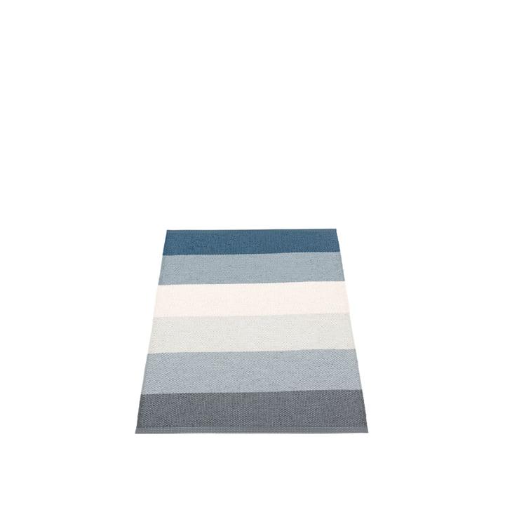 Molly Rug, 70 x 100 cm by Pappelina in Ocean Grey