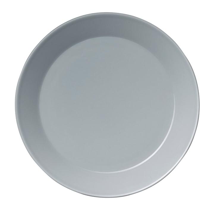 Teema flat plate Ø 26 cm, pearl grey