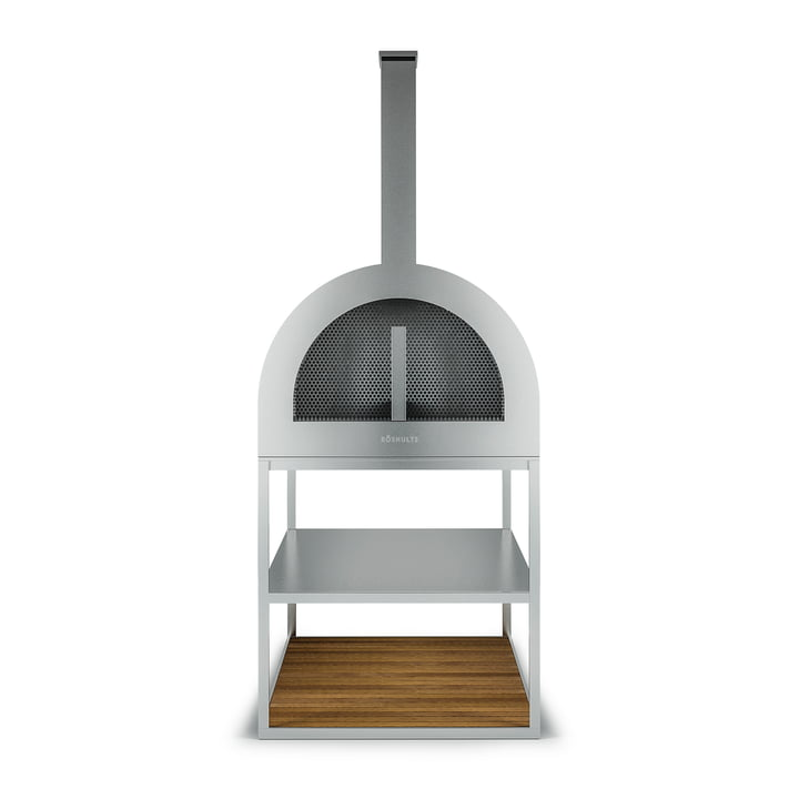 Röshults - BBQ Wood Oven, Stainless Steel