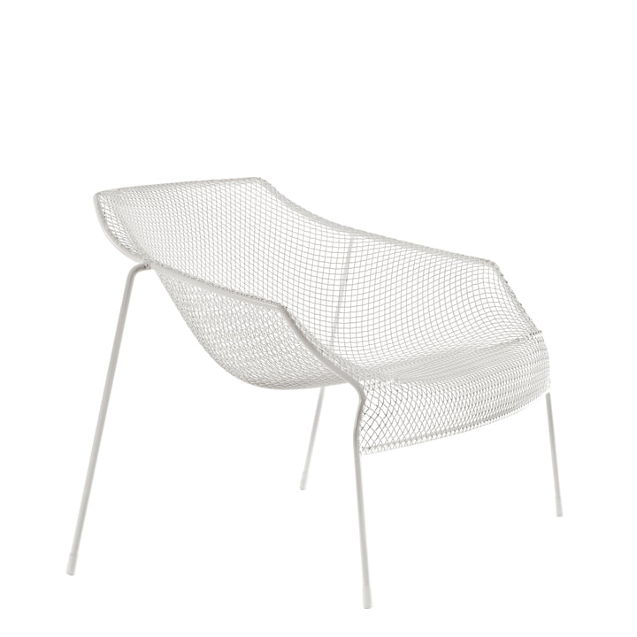 Emu - Heaven Lounge Chair, white