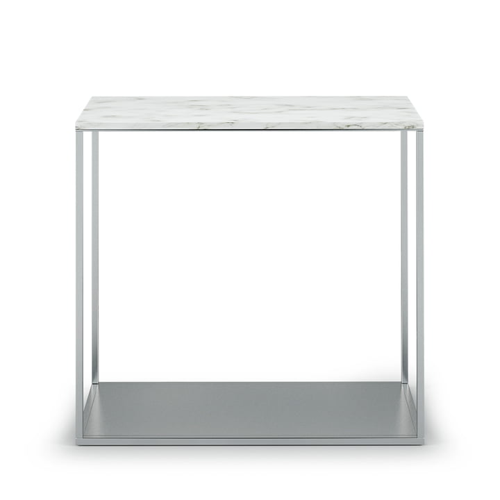 The Röshults - York Side Table H 47.5 cm, 50 x 25 cm, Marble