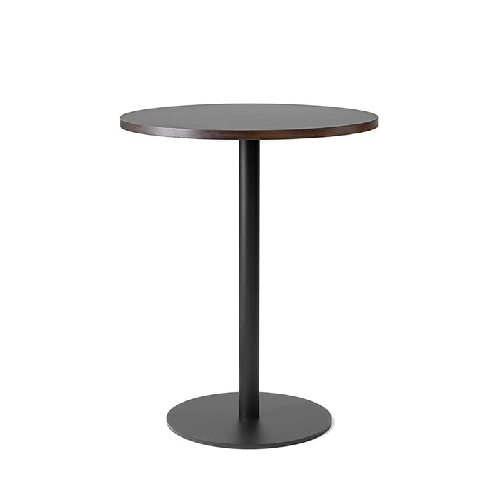 Nærvær Bistro table Ø 60 x H 74 cm from & Tradition in black / oak smoked and oiled