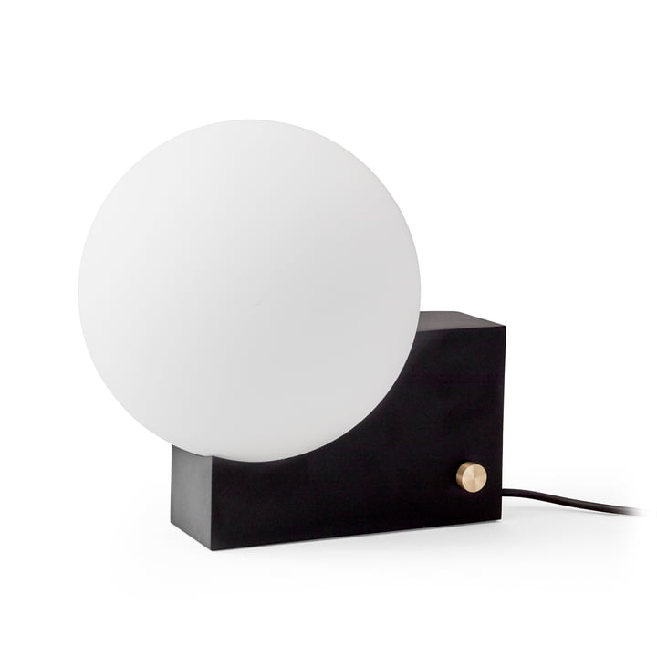 Journey Table and Wall Lamp by &Tradition in Black