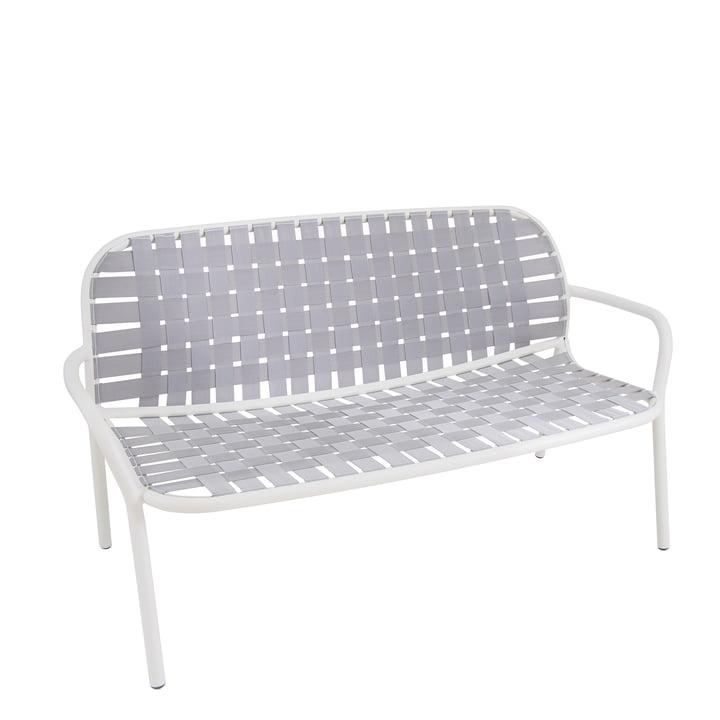 Yard Loungesofa from Emu in white / grey