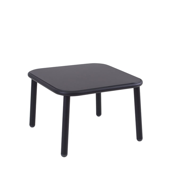 The Emu - Yard Side Table, 60 x 60 cm, black
