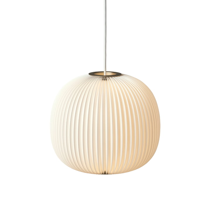 Le Klint - Lamella 3 Pendant Lamp, gold / white