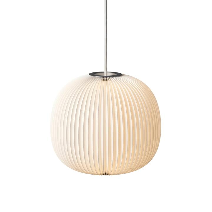 Le Klint - Lamella 3 Pendant Lamp, silver / white