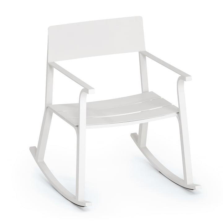 The Weishäupl - Flow Rocking Chair, White