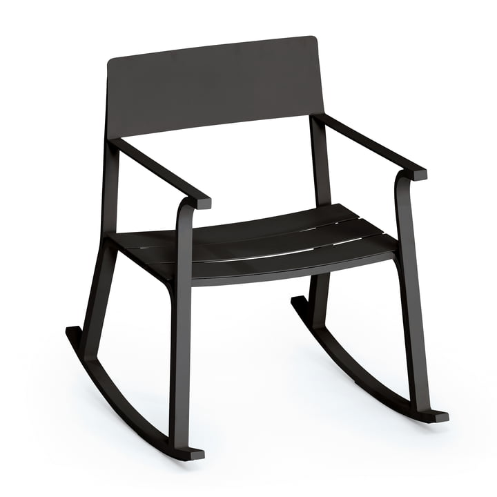 The Weishäupl - Flow Rocking Chair, black