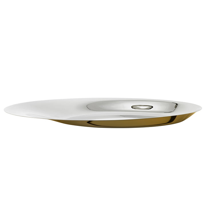 Foster Bowl Ø 46 cm from Stelton in stainless steel / gold