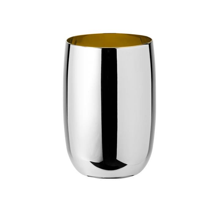 Foster Water glass 0,2 l from Stelton in stainless steel / gold