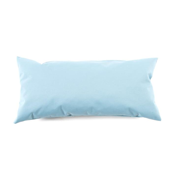 Zipp Pillow from Sitting Bull in sea blue