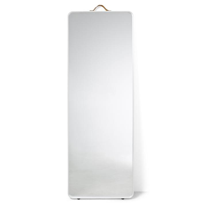 Standard floor mirror of Menu in white