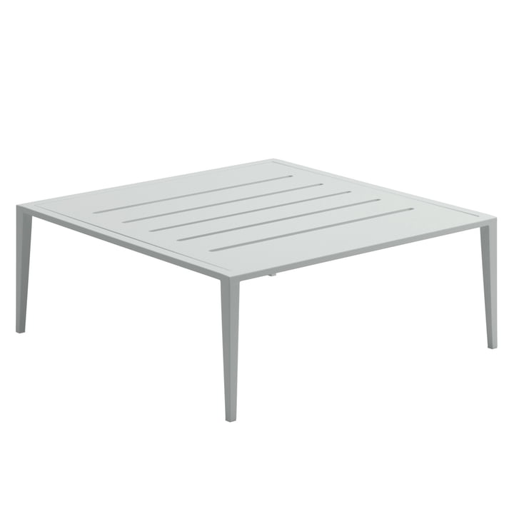 The Gloster - Vista Lounge Coffee Table, 76.5 x 76.5 cm, meteor