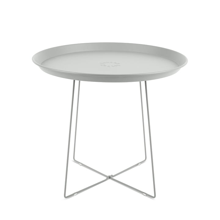 Fatboy - Plat-o Side Table and Tray, light grey