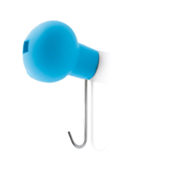 Magis - Wall Wardrobe Hook Globo, blue 1635C