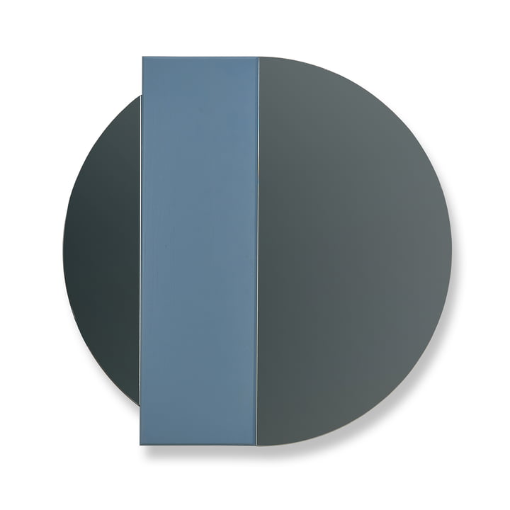 Hartô - Charlotte Wall Mirror by Hartô in Blue / Grey Mirror Glass