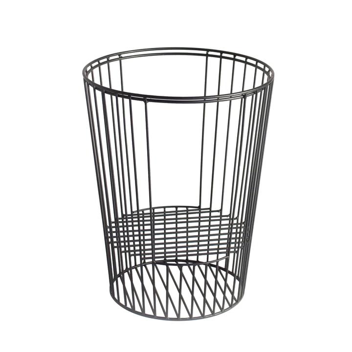 Basket for Ernestin Table and Magazine Holder in Black