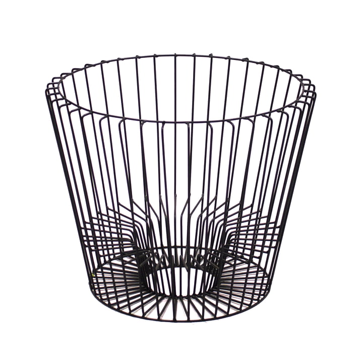 Hartô - Basket for Ernest Table and Magazine Holder by Hartô in Black