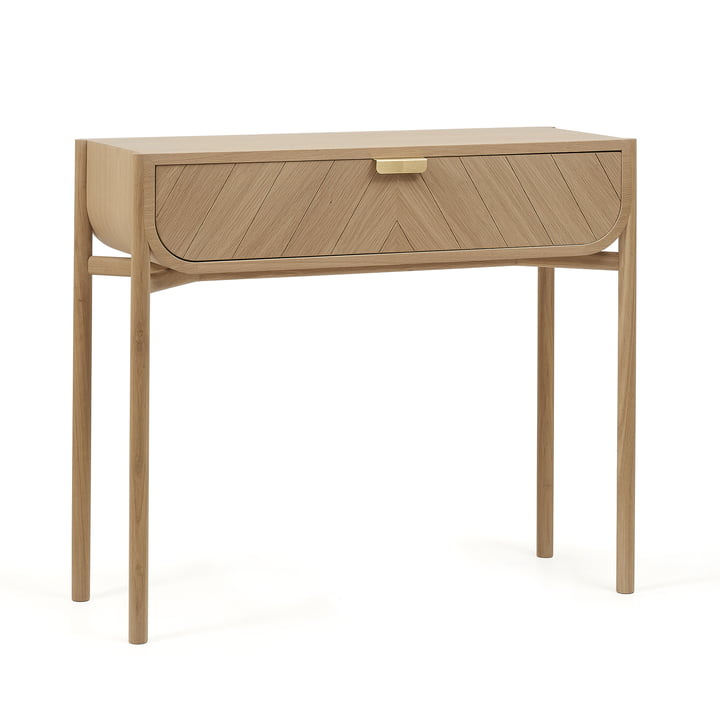 Marius Console Table by Hartô in natural oak