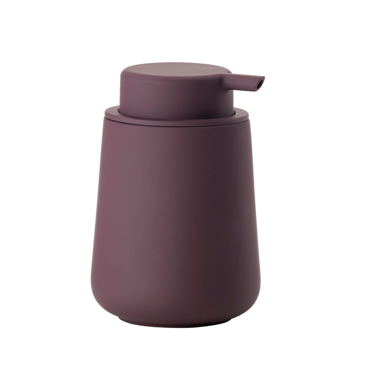 Purple Nova soap dispenser from Zone Denmark