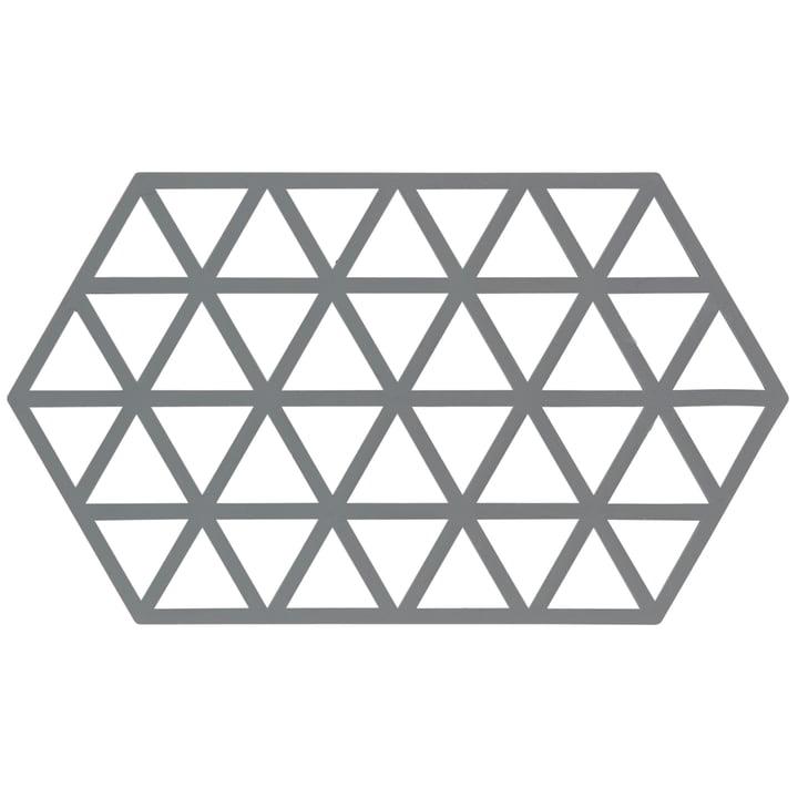 Grey coaster Triangle from Zone Denmark