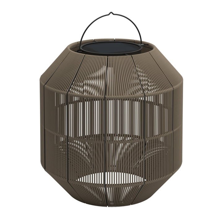Gloster - Ambient Nest Solar Lamp, fawn