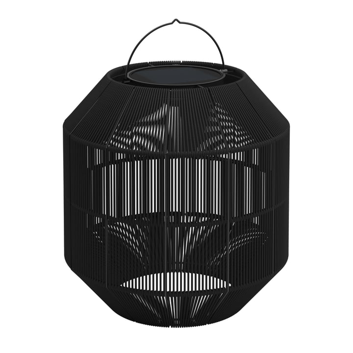 Gloster - Ambient Nest Solar Lamp, steel