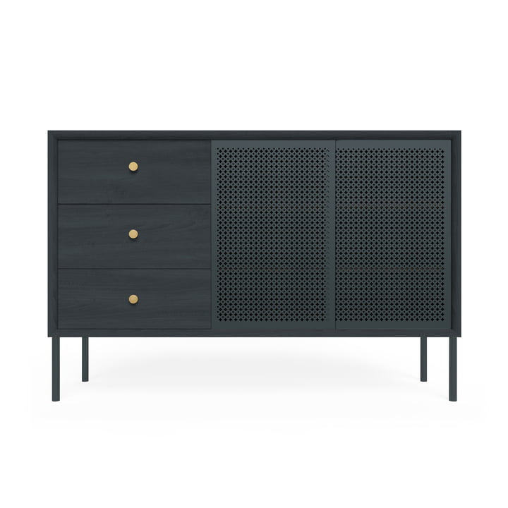 Gabin Sideboard High with Drawers by Hartô in Anthracite Grey (RAL 7016)