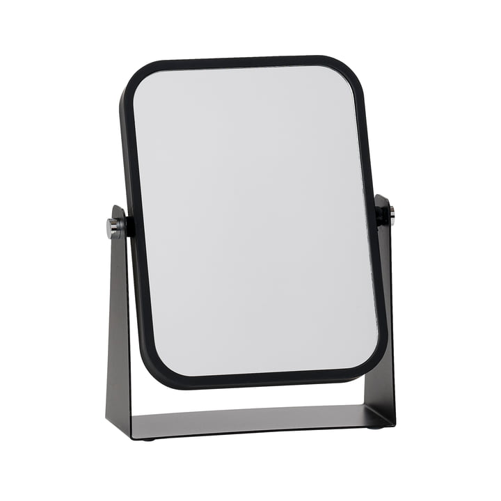 The Zone Denmark - Table mirror with 2 mirrored surfaces and magnifying effect, black