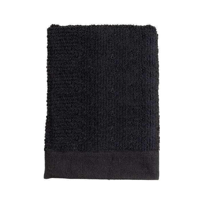 The Zone Denmark - Classic Hand Towel, 100 x 50 cm, black