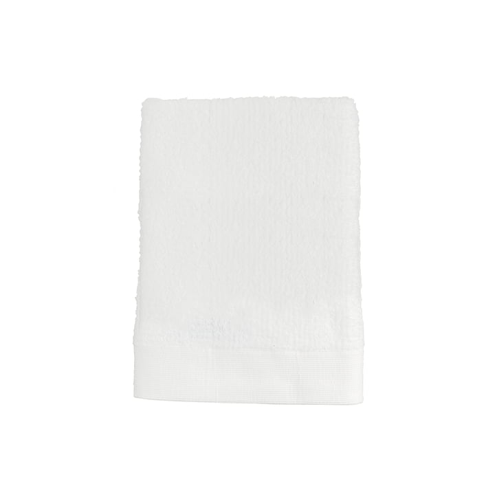 The Zone Denmark - Classic guest towel, 50 x 70 cm, white