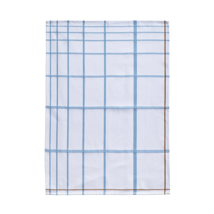 Tea Towel 70 x 50 cm by Zone Denmark in White / Blue