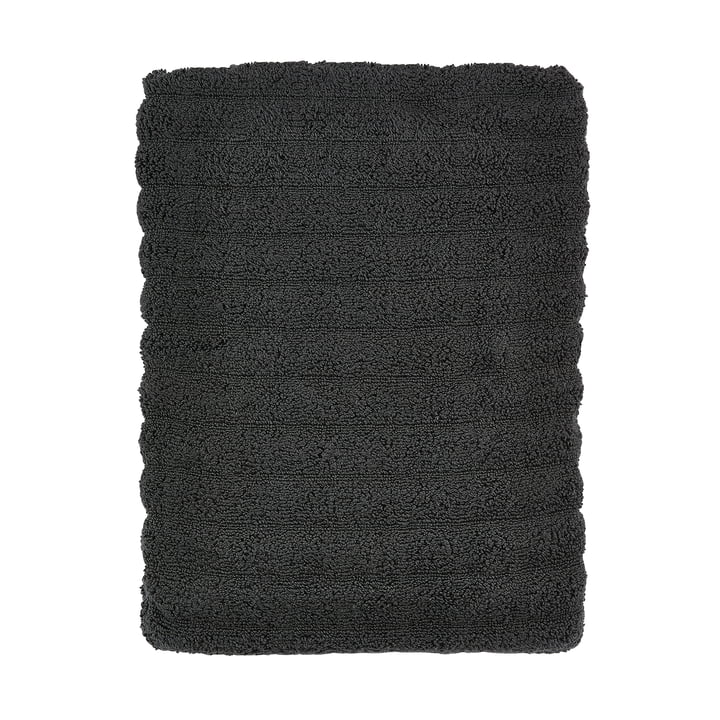 The Zone Denmark - Prime Bathroom Hand Towel, 70 x 140 cm, coal grey