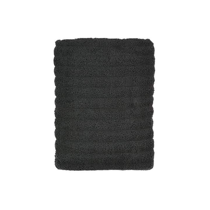 The Zone Denmark - Prime Bathroom Hand Towel, 50 x 100 cm, coal grey